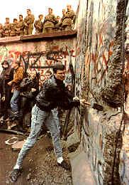 Berlín, 9 de noviembre de 1989.