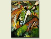 W. Kandinsky, Improvisación 7 (1910)