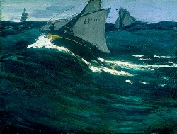 La ola verde - Claude Monet