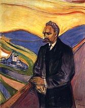Nietzsche, por E. Munch
