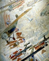 Air Fight, John Turnbull(1919)